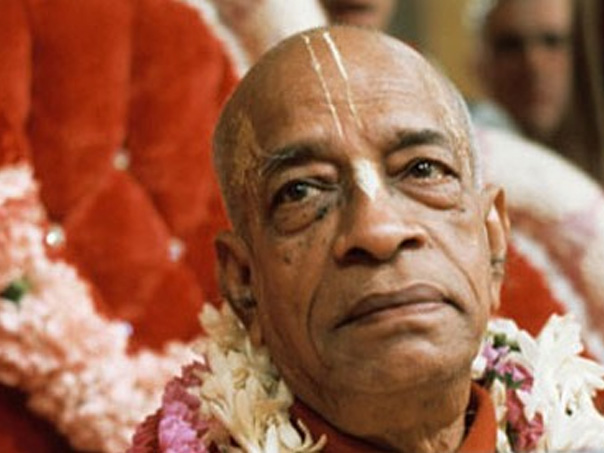 Radhanath Swami's teacher and guru, Srila Prabhupada