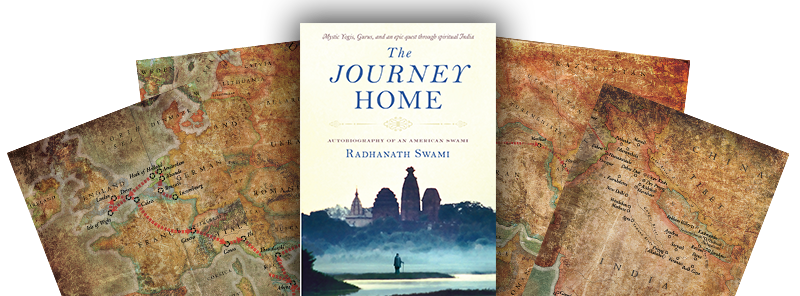 The Journey Home Cover with maps
